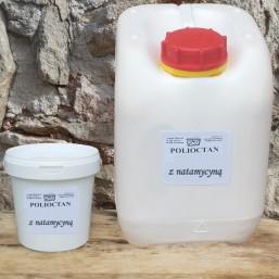 Polioctan z natamycyną