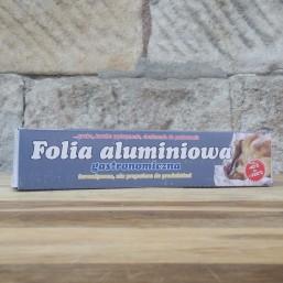 Folia aluminiowa z nożem